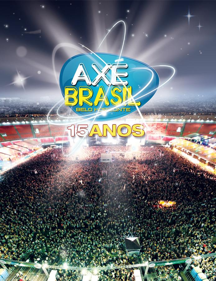 Axé Brasil comemora 15 anos com um super show no Mineirão