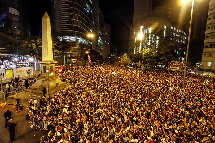 DM Promoções promove evento de comemoração do título da Taça Libertadores do Atlético Mineiro