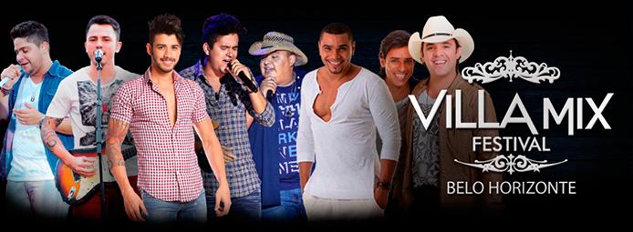 A DM promoções, realiza em 2013 a primeira edição do Villa Mix Festival Bh